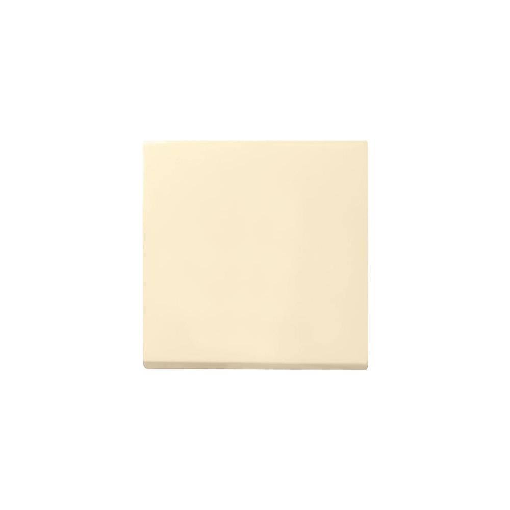 gira system 55 cremewei gl nzend schuko steckdose rahmen schalter wippe einsatz ebay. Black Bedroom Furniture Sets. Home Design Ideas