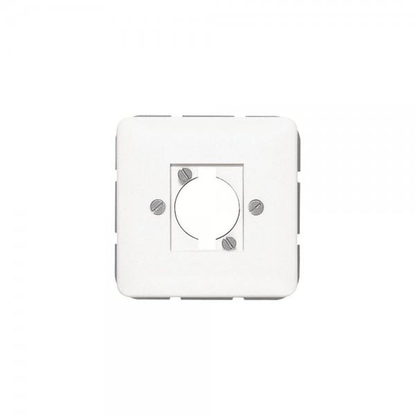 Jung 568-1 Abdeckung Lautsprecher Steckverbinder cremeweiß