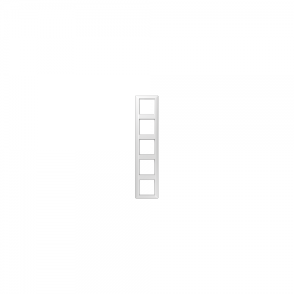 Jung AS585BFWW Abdeckrahmen 5fach bruchsicher alpinweiß hochglänzend