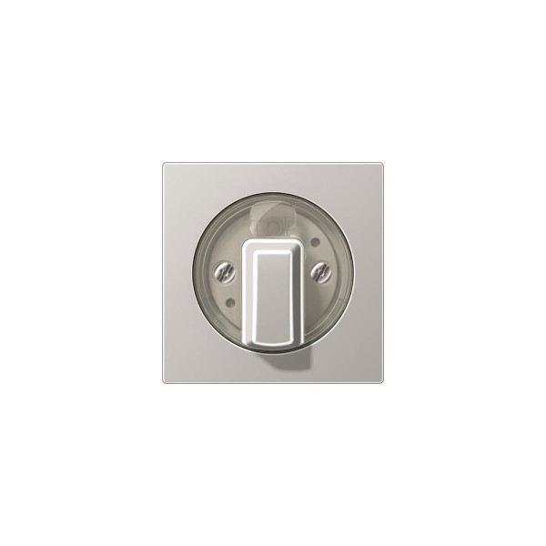 Jung A1541AL Abdeckung für Drehschalter aluminium