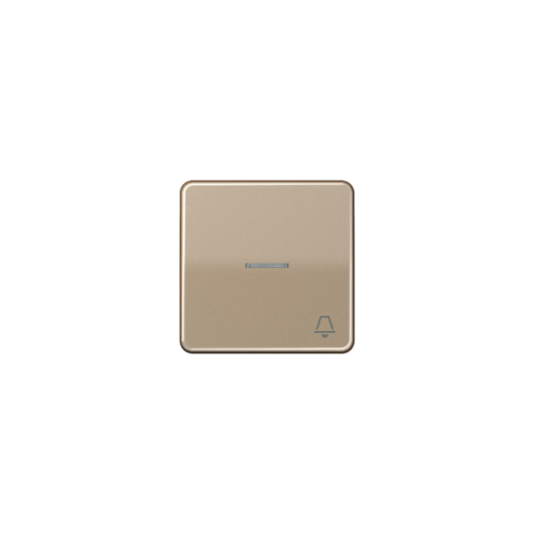 "Jung CD590KO5KGB Wippe Symbol ""Klingel"" Kontroll gold-bronze"