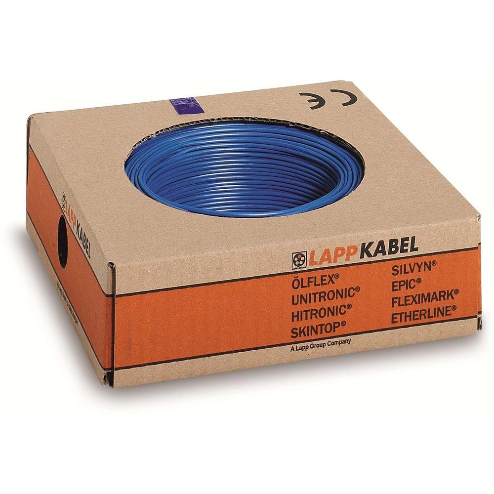 lapp kabel litze h05v k 0 75mm gr n gelb 100 meter ring h05v k feindr htig lapp kabel. Black Bedroom Furniture Sets. Home Design Ideas