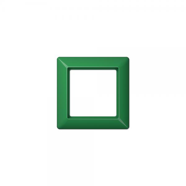 Jung AS581BFGN Abdeckrahmen 1fach bruchsicher grün hochglänzend
