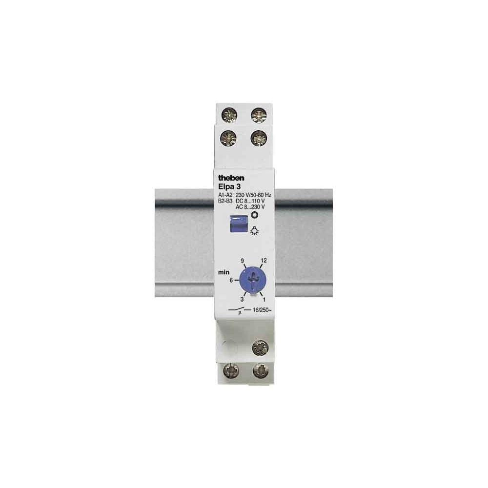 THEBEN ELPA 6 plus Treppenlichtzeitschalter DIN Schiene 3-//4 Leiter Schaltung