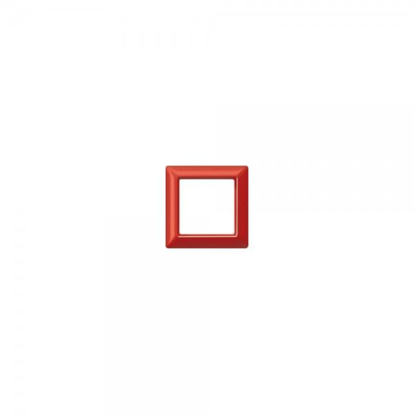 Jung AS581GLRT Abdeckrahmen 1fach rot