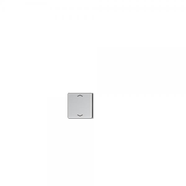 Jung A404TSAPAL23 Taste 4fach mit Symbolen Auf/Ab aluminium