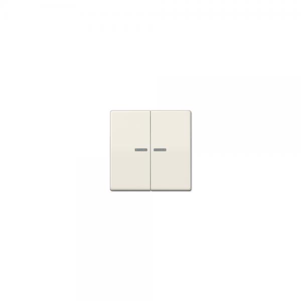 Jung AS591-5KO5BF Wippe Serienschalter Kontroll bruchsicher Serie AS cremeweiß glänzend