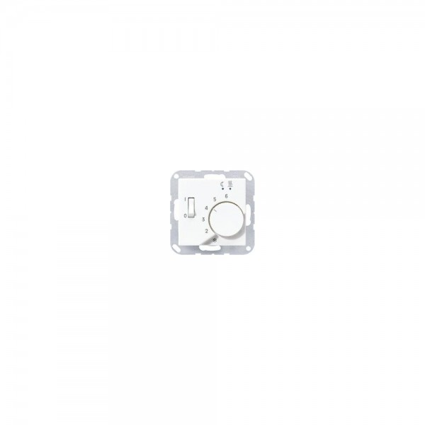 Jung FTRA231AL Fussbodenheizungsregler aluminium
