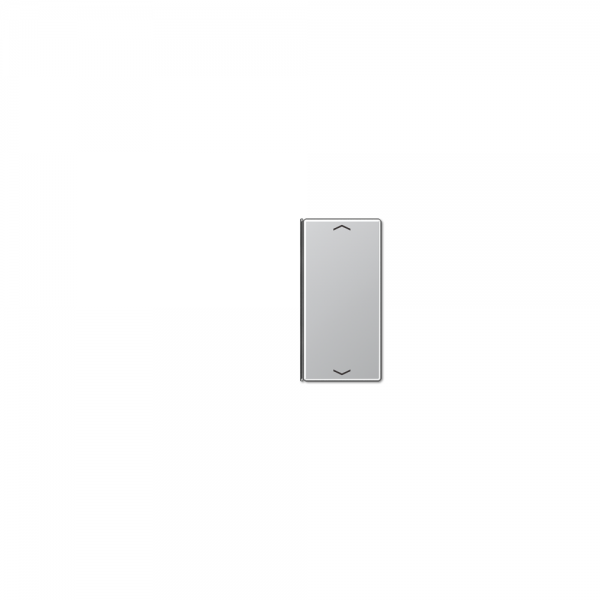 Jung A402TSAPAL Taste 2fach mit Symbolen Auf/Ab aluminium