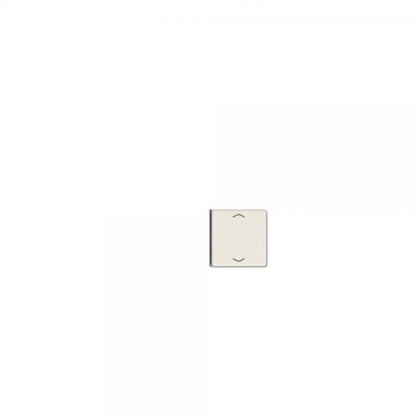 Jung A404TSAP14 Taste 4fach mit Symbolen Auf/Ab cremeweiß