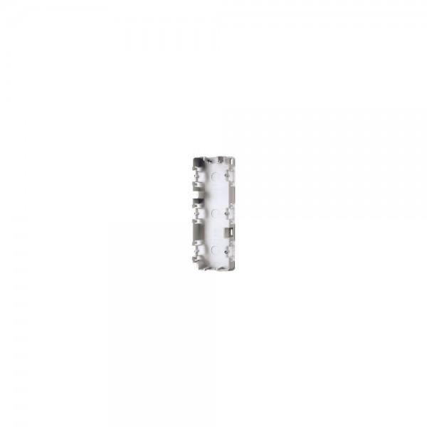 Jung 583A Montagegehäuse für Aufputz-Kappen 3fach