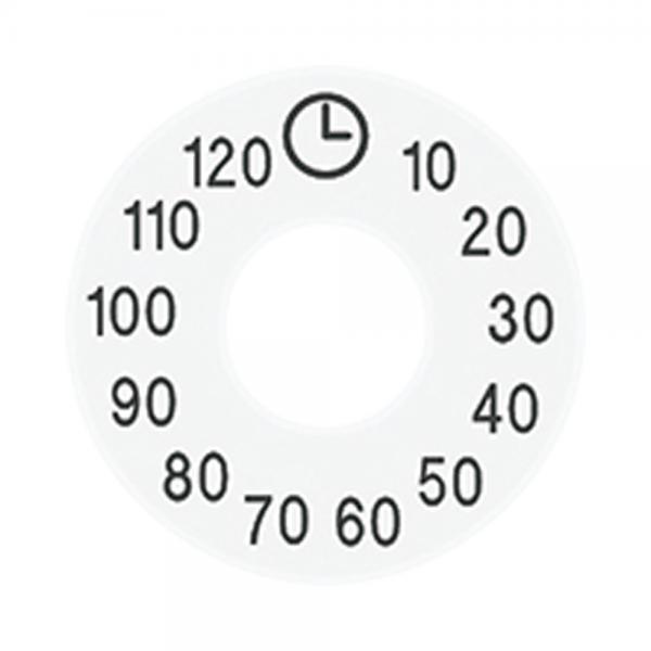 Jung SKS11120-20WW Skalenscheibe für Schaltuhr alpinweiß