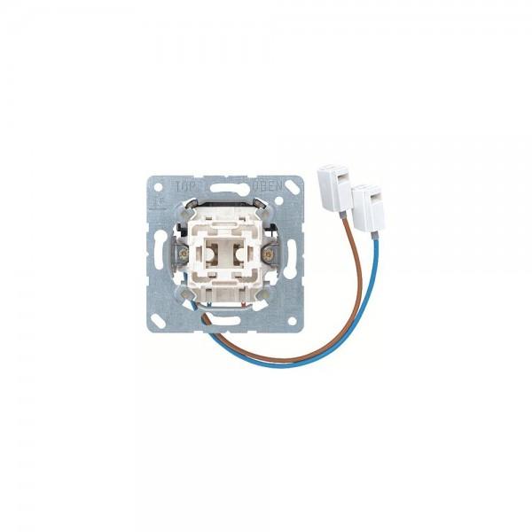 Jung 533ULEDW Taster mit integriertem LED-Einsatz UP Einsatz