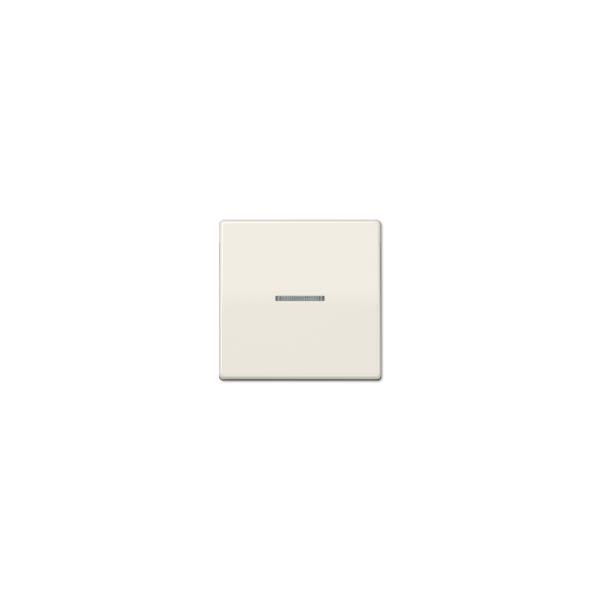 Jung AS591KO5BF Wippe Schalter/Taster Kontroll bruchsicher Serie AS cremeweiß glänzend