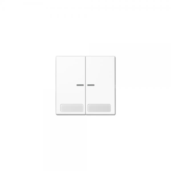 Jung LS995NAKO5WW Kontroll-Serien-Wippe mit Schriftfeldern alpinweiß
