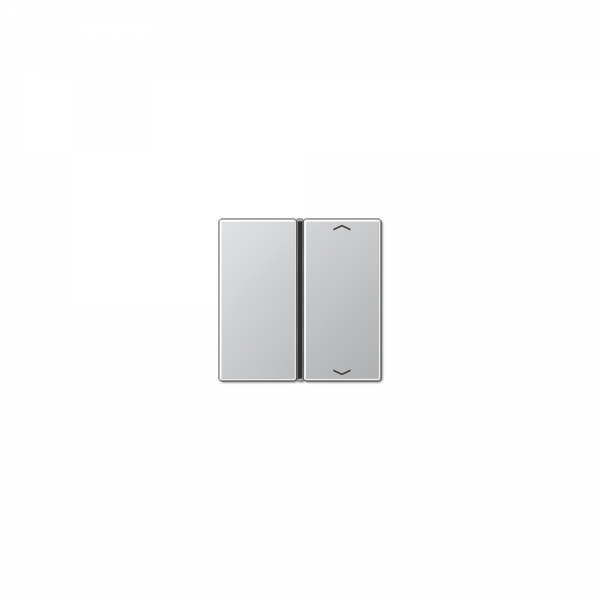 Jung A401TSAPAL Taste 1fach mit Symbolen Auf/Ab aluminium