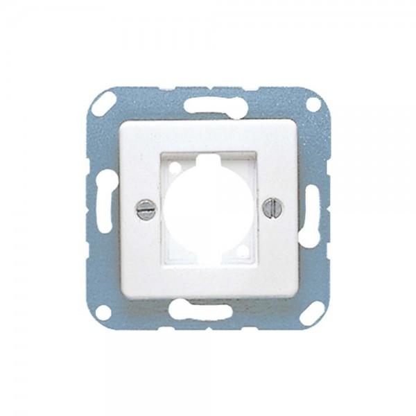 Jung 168-1WW Abdeckung für Lautsprecher-Steckverbinder alpinweiß