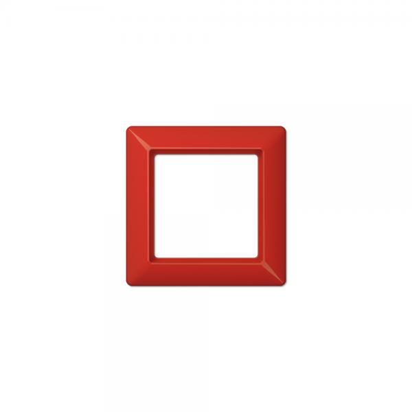 Jung AS581BFRT Abdeckrahmen 1fach bruchsicher rot hochglänzend