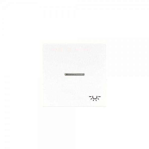 Jung LS990KO5LWW Kontroll-Wippe mit Symbol Licht alpinweiß