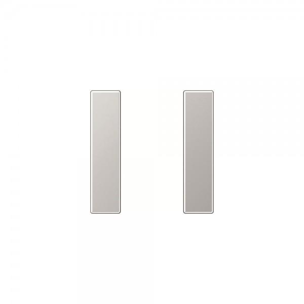 Jung A501TSAAL Tastensatz 1fach komplett aluminium