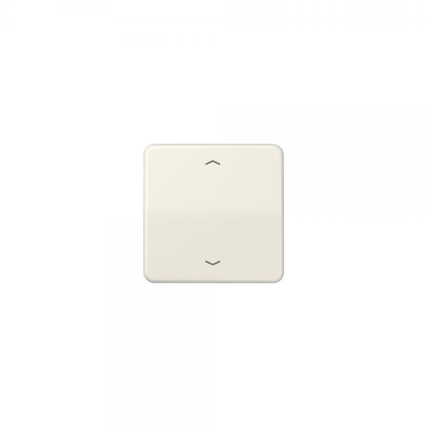 Jung CD590P Wippe Symbole für Taster BA 1fach cremeweiß