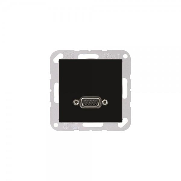 Jung MAA1102SW Multimediaanschlusssystem VGA schwarz