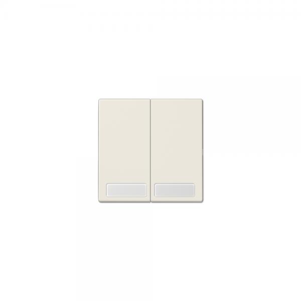 Jung LS995NA Serien-Wippe mit Schriftfeldern cremeweiß