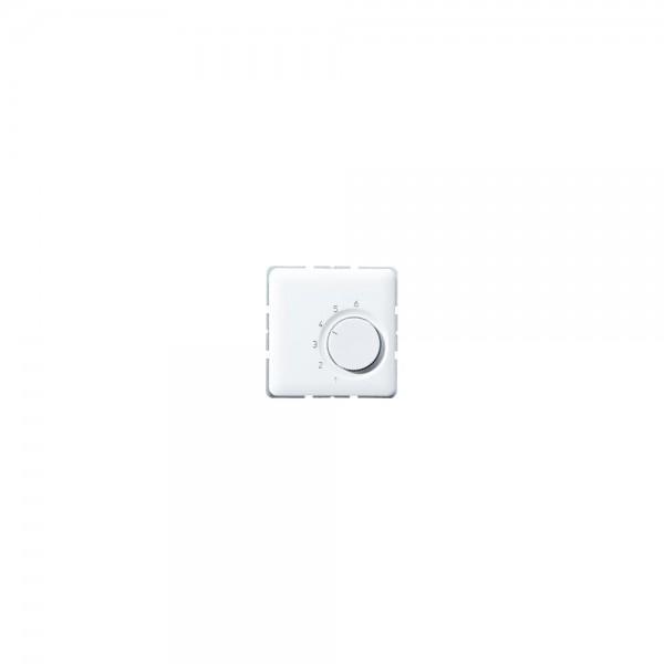 Jung TRCD246WW Raumtemperaturregler Wechsler 24V alpinweiß
