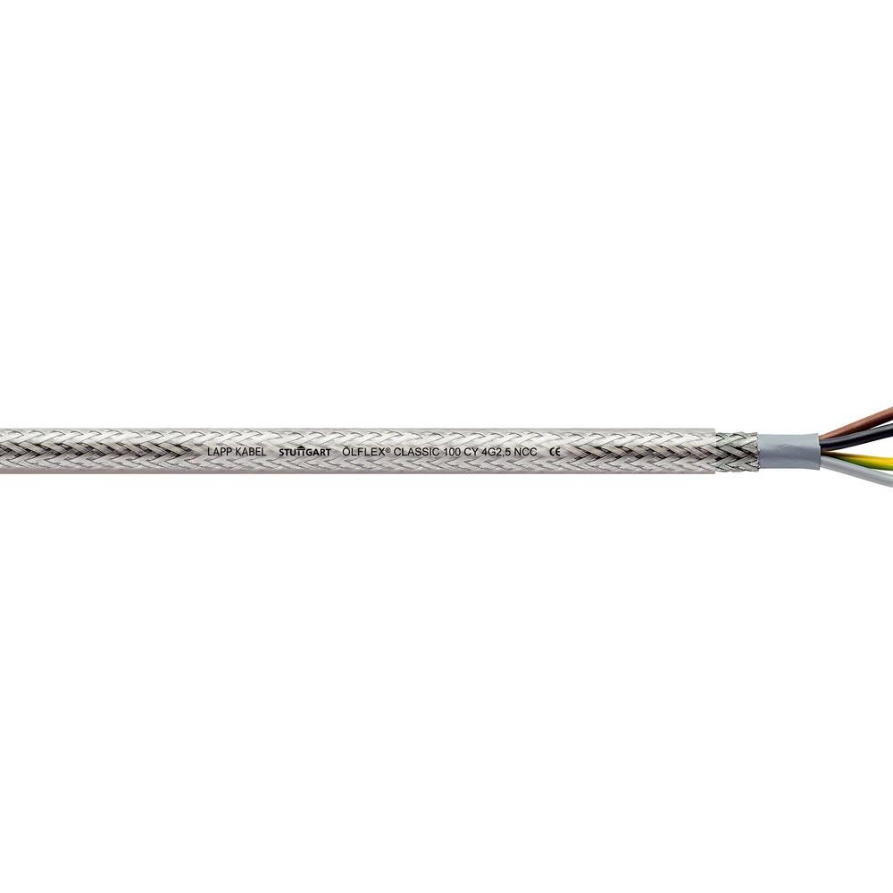 YSLYCY-JZ 5x1,5mm² Steuerleitung geschirmt transparent Meterware