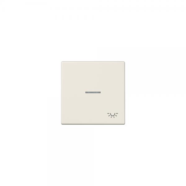 Jung LS990KO5L Kontroll-Wippe mit Symbol Licht cremeweiß