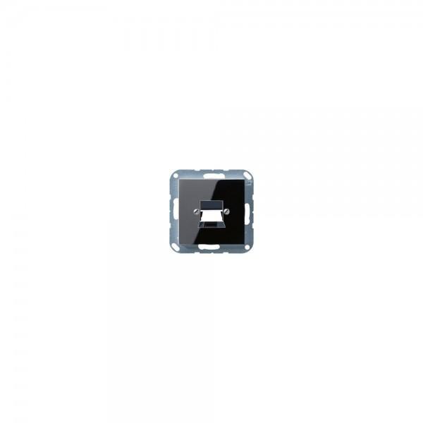Jung A569-1NWESW Abdeckung für Modular-Jack schwarz