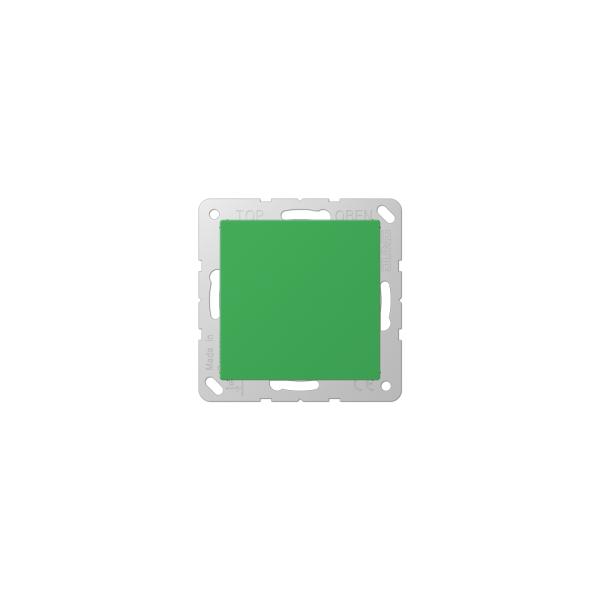 Jung A594-0GN Blind-Abdeckung mit Tragring grün