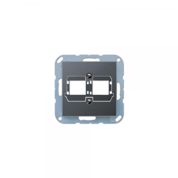 Jung A569-21BFACSANM Abdeckung Modular-Jack anthrazit matt