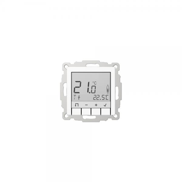 Jung TRUDA231WW Raumtemperaturregler mit Display alpinweiß