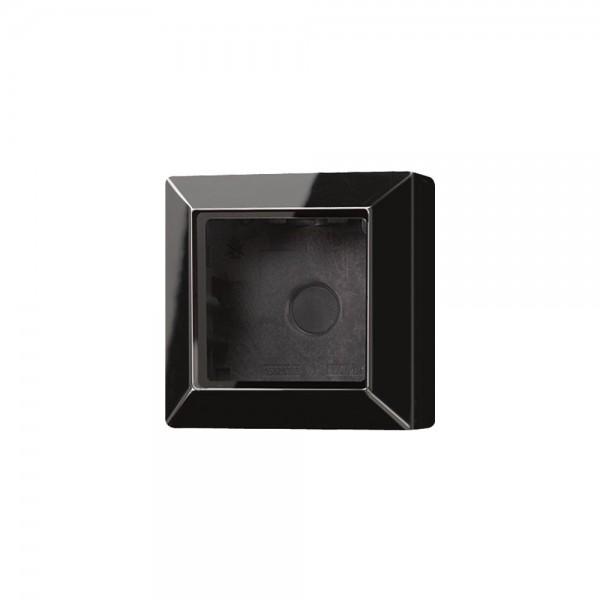 Jung AS581ASW Aufputz-Kappe 1fach schwarz