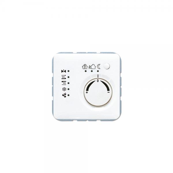 Jung CD2178TSWW KNX Stetigregler mit integrierter Tasterschnittstelle alpinweiß