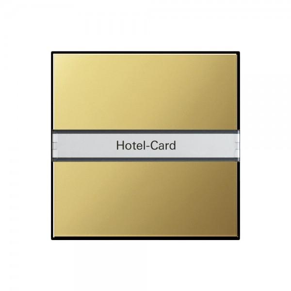 Gira 0140604 Hotel-Card-Taster Beschriftungsfeld System 55 Messing