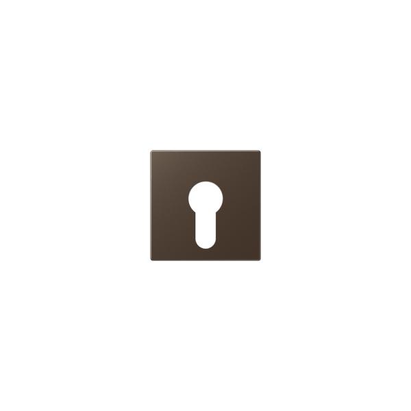 Jung A525PLMO Abdeckung für Schlüsselschalter mokka