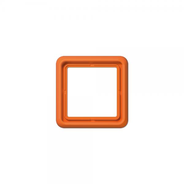 Jung CD581WUO Abdeckrahmen 1fach bruchsicher orange