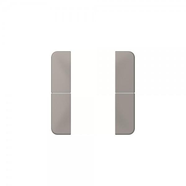 Jung CD502TSAGR Tastensatz 2fach komplett grau