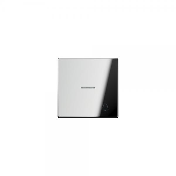 Jung GCR2990KO5K Kontroll-Wippe mit Symbol Klingel glanzchrom