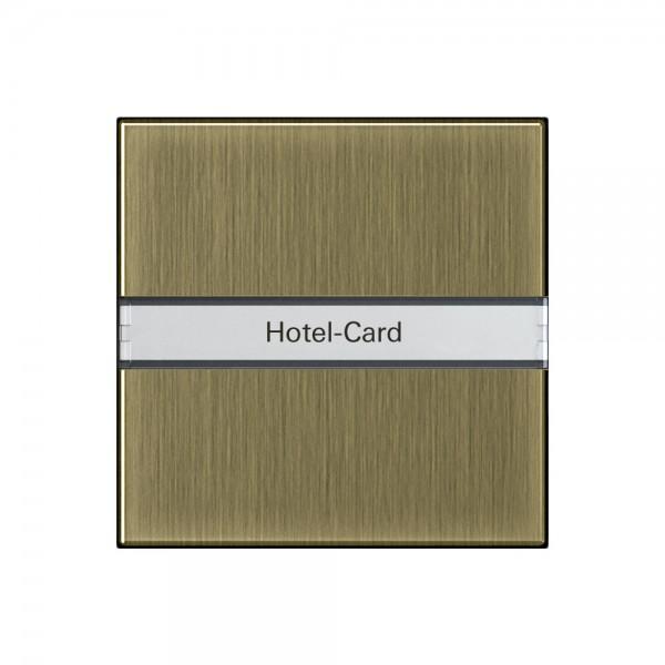 Gira 0140603 Hotel-Card-Taster Beschriftungsfeld System 55 Bronze