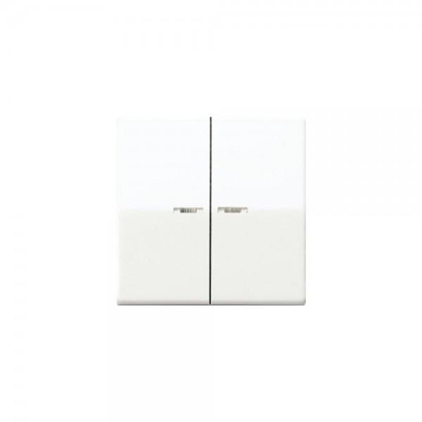 Jung ABAS591-5KWW Wippe Serienschalter Kontroll antibakteriell alpinweiß
