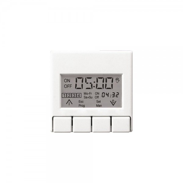 Jung A5201DTSTSW Zeitschaltuhr Display Standard schwarz