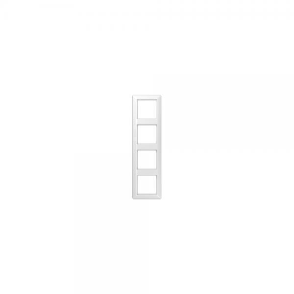 Jung AS584BFWW Abdeckrahmen 4fach bruchsicher alpinweiß hochglänzend
