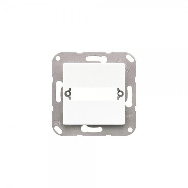 Jung A594-125 Abdeckung für Trapezsteckverbinder cremeweiss