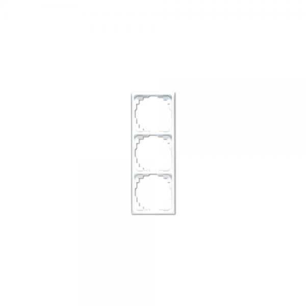 Jung CD583KLG Kabel-Kanal-Rahmen 3fach lichtgrau