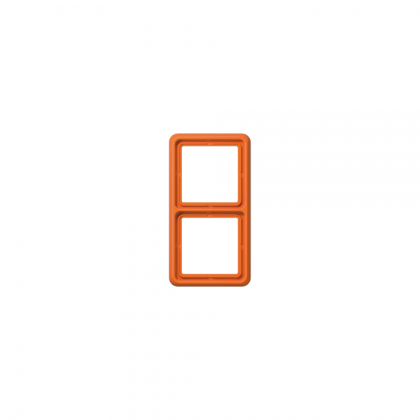 Jung CD582WUO Abdeckrahmen 2fach bruchsicher orange