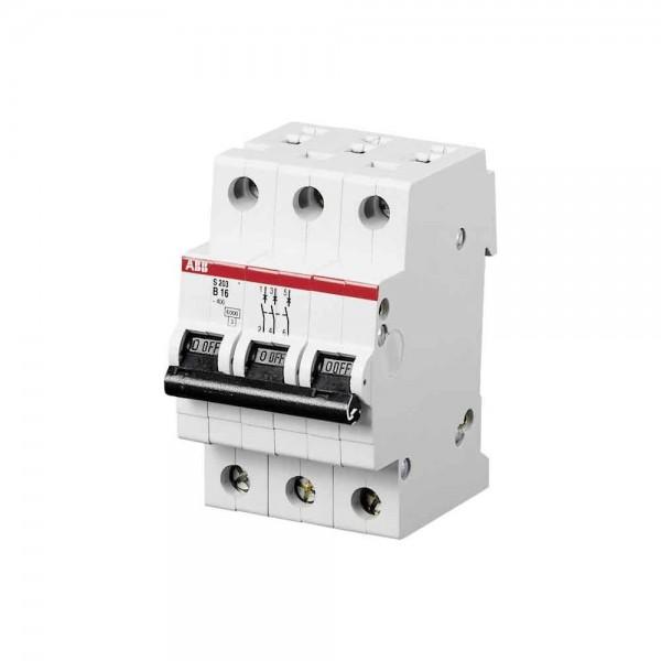 ABB S203-B16 Sicherungsautomat B16A 3-polig 2CDS253001R0165