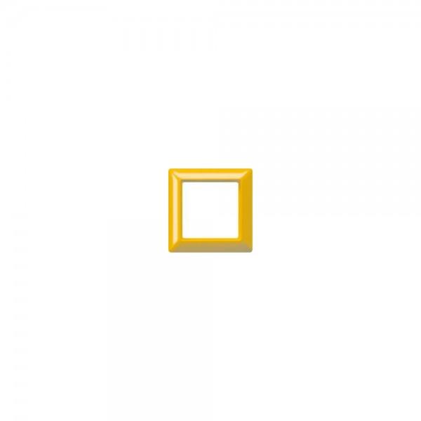 Jung AS581GLGE Abdeckrahmen 1fach gelb